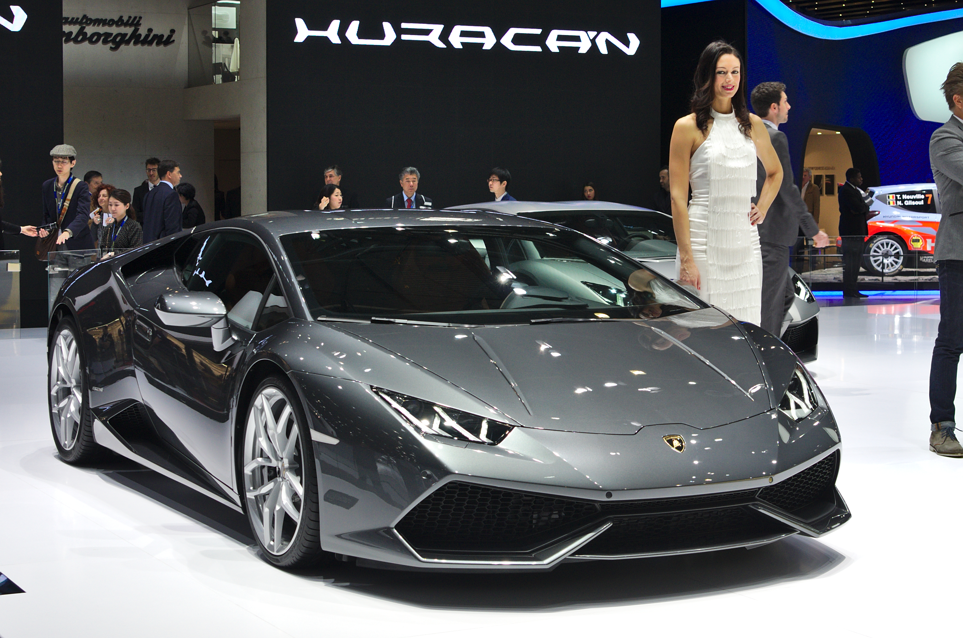 file salon de l 39 auto de gen ve 2014 20140305 lamborghini huracan wikimedia commons. Black Bedroom Furniture Sets. Home Design Ideas