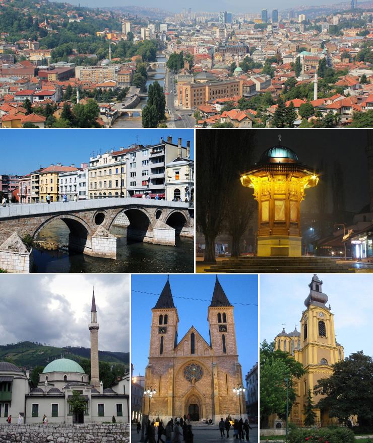 Namiastka orientu w Europejskiej stolicy - Sarajewo