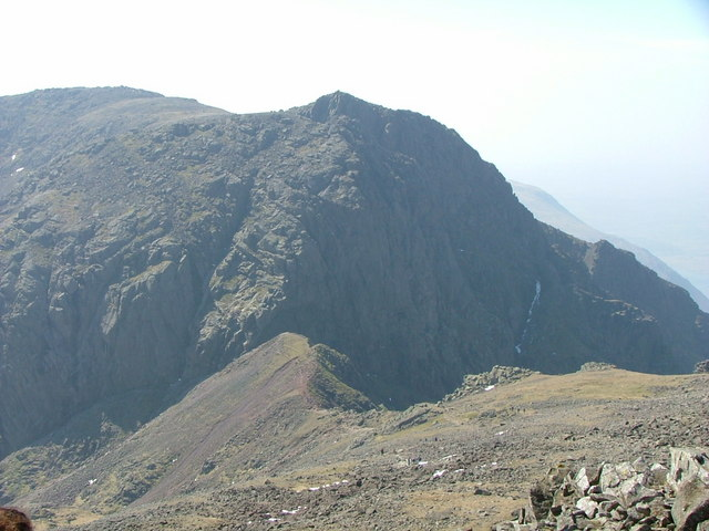 Scafell from Scafell Pike - geograph.org.uk - 535718