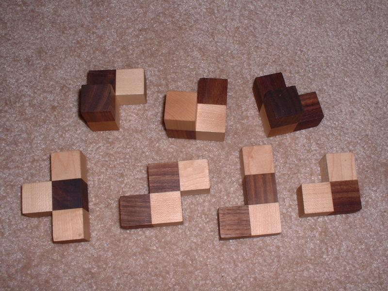 The Soma Cube Puzzle - 2