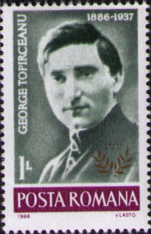 Fișier:Stamp 1986 George Toparceanu.jpg - Wikipedia