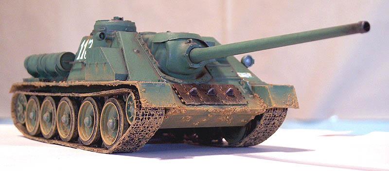 المدرعة الروسيه SU 100 Su_100