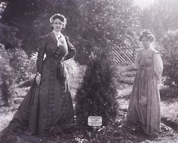 Constance Lytton and Annie Kenney