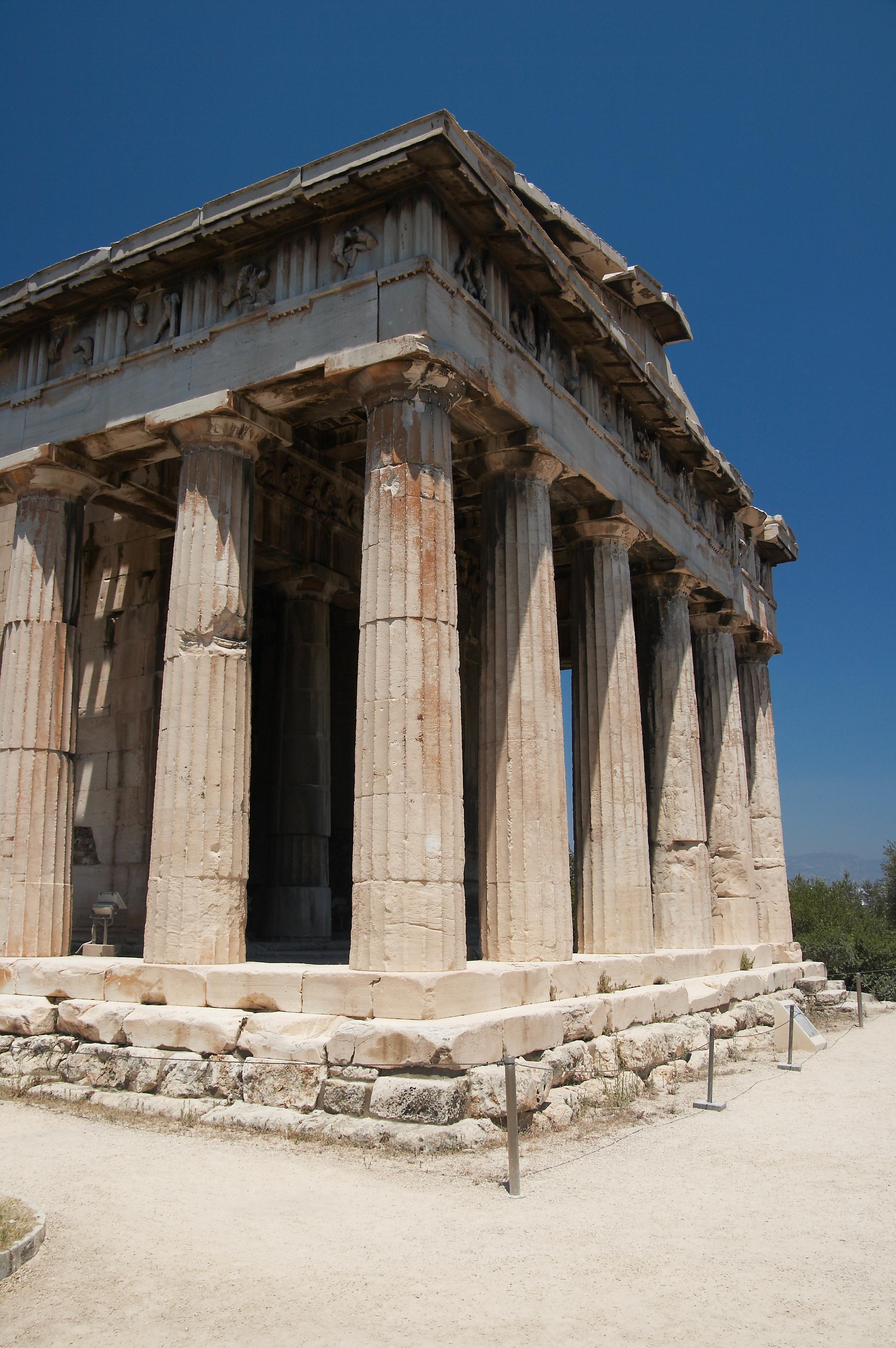 File:Temple of Hephaestus (Southwest), Athens - 20070711 ...