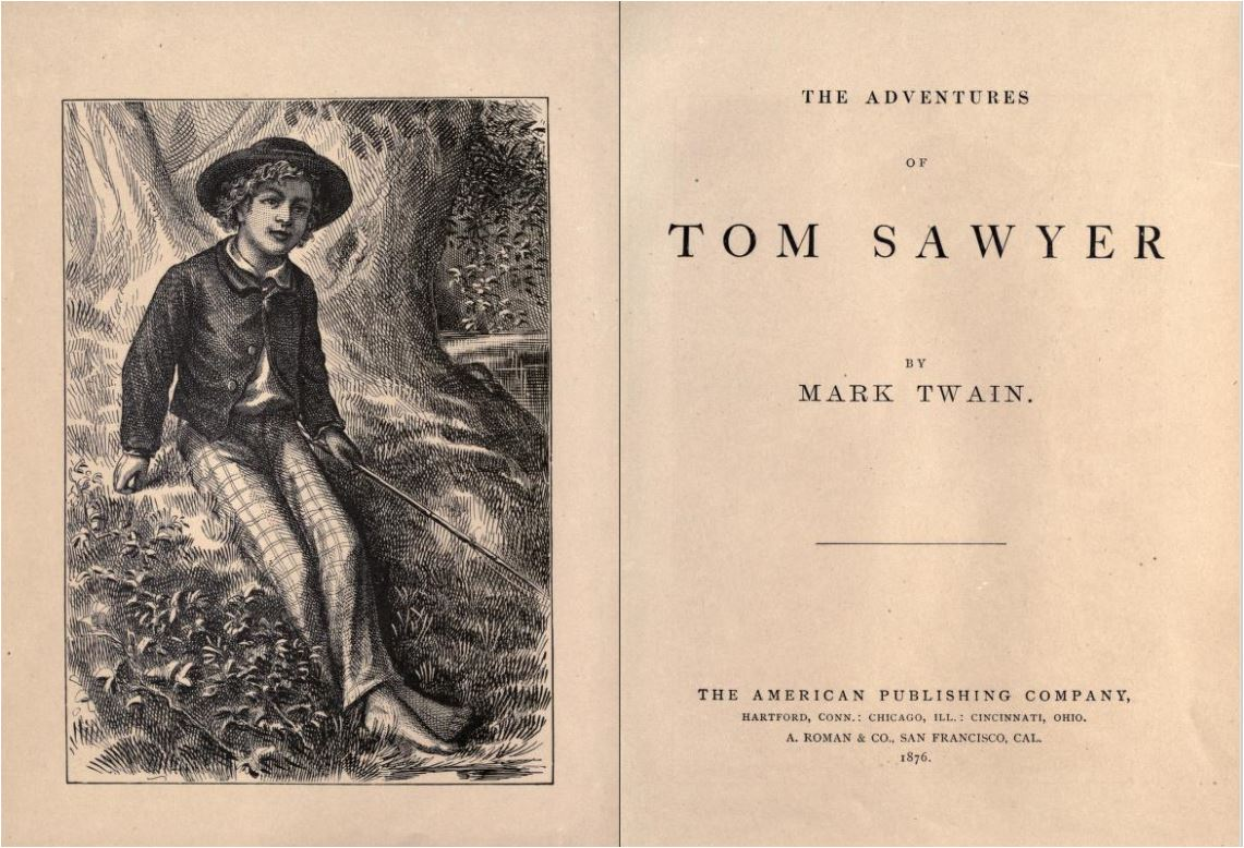 Image result for The Adventure Of Tom Sawyer