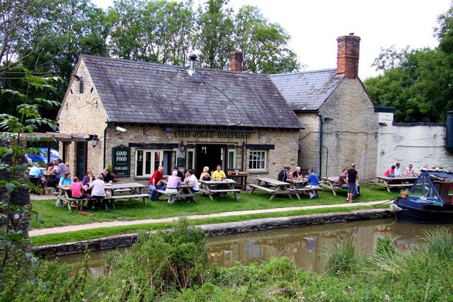 The Jolly Boatman at Thrupp - geograph.org.uk - 1483477