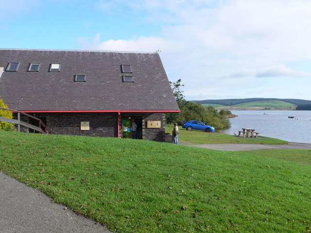 The Visitor Centre at Llyn Brenig - geograph.org.uk - 962012