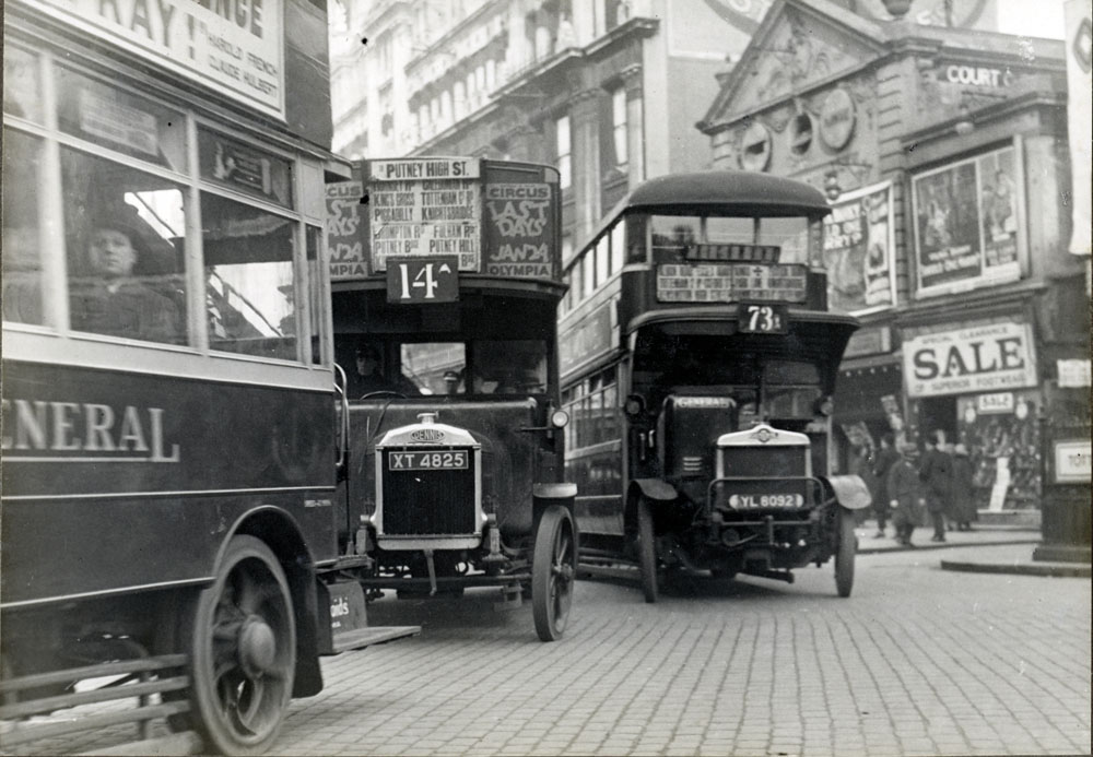File Traffic In London In 1927 Jpg Wikimedia Commons