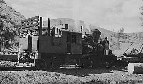 Heisler Locomotive Heisler Locomotive 1941