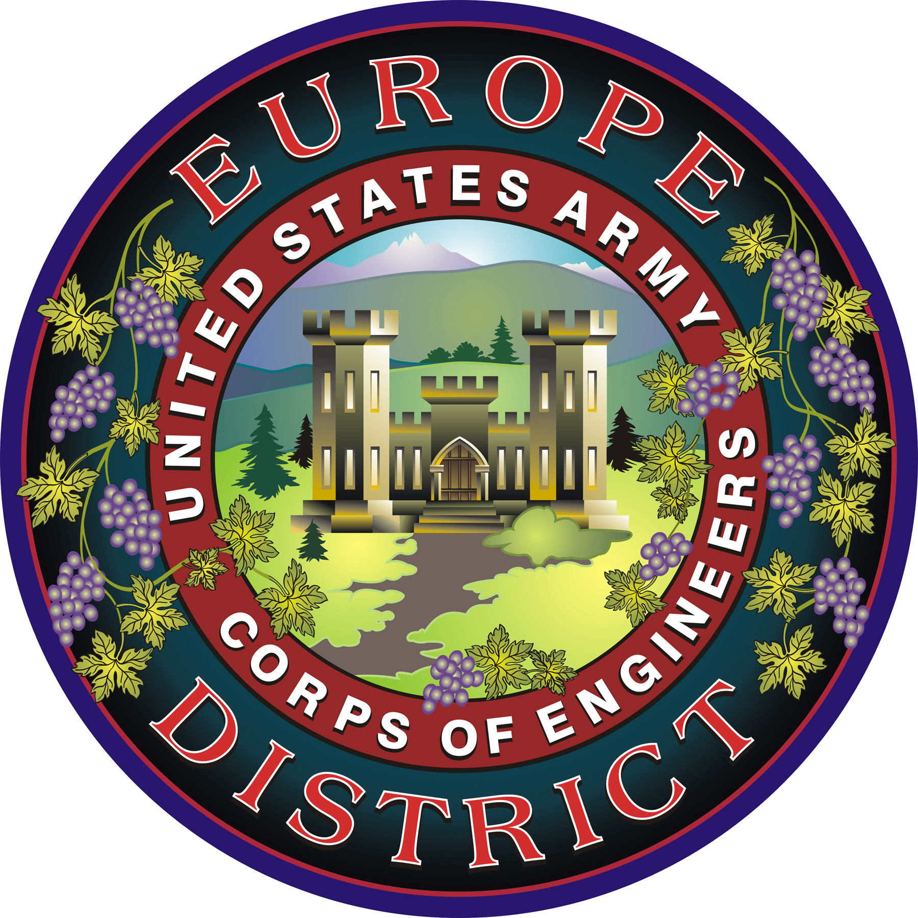 Us Army Corps Of Engineers Europe District Wikipedia - Us-army-corps-of-engineers-district-map