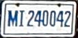 Uruguay fire public safety vehicle registration plate.jpg
