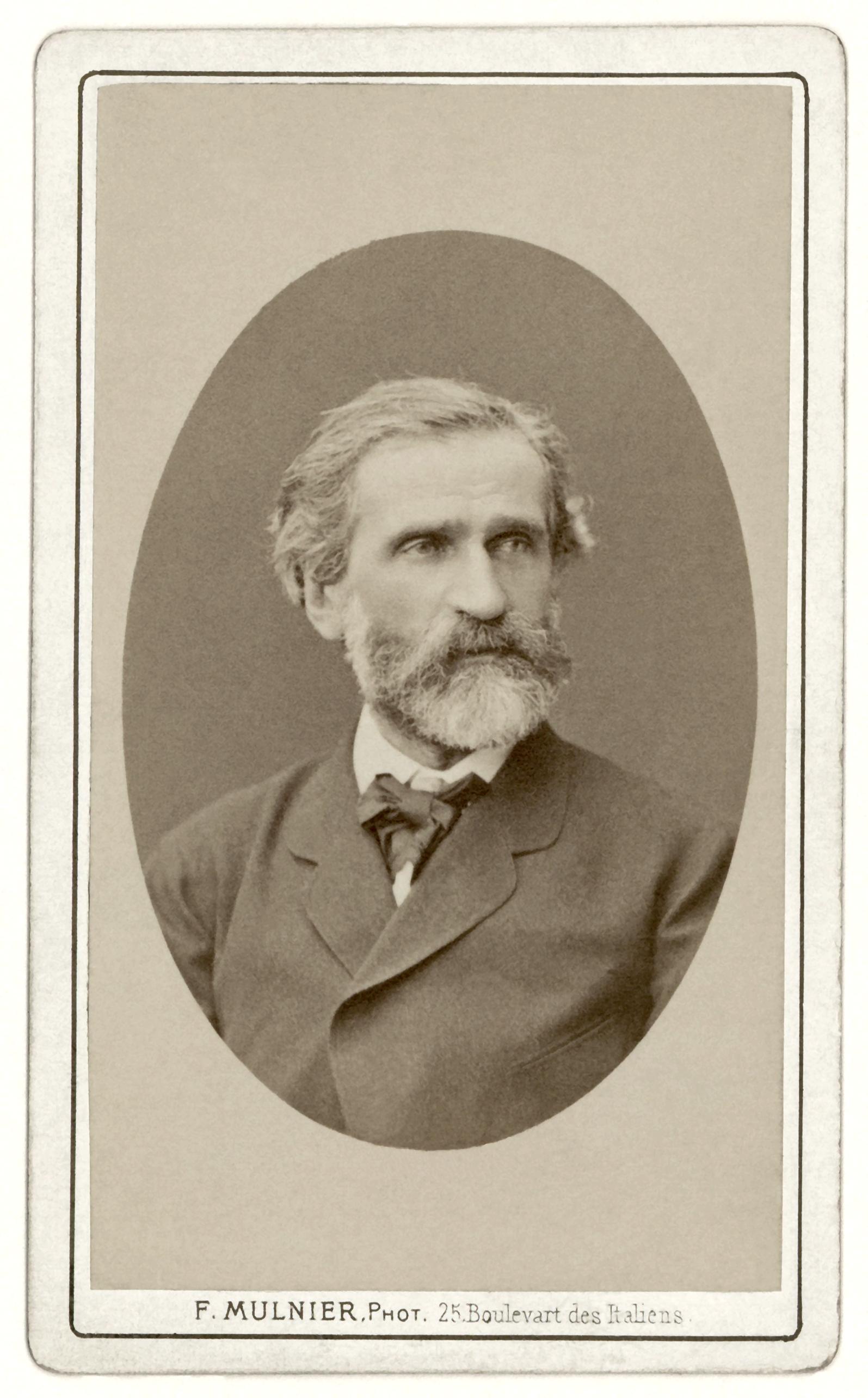 Giuseppe Verdi Größe