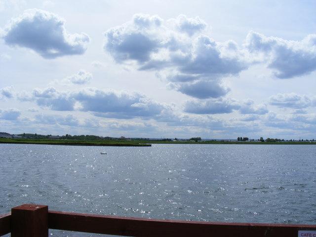 View across lake at Barton's Point Coastal Park - geograph.org.uk - 1285674