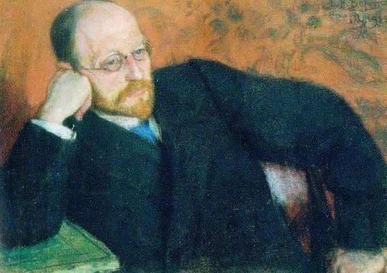 Сергей Малютин. Портрет Викентия Вересаева. 1919 г.