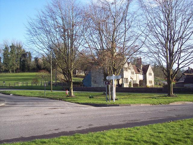 Village green at Fonthill Bishop - geograph.org.uk - 360426