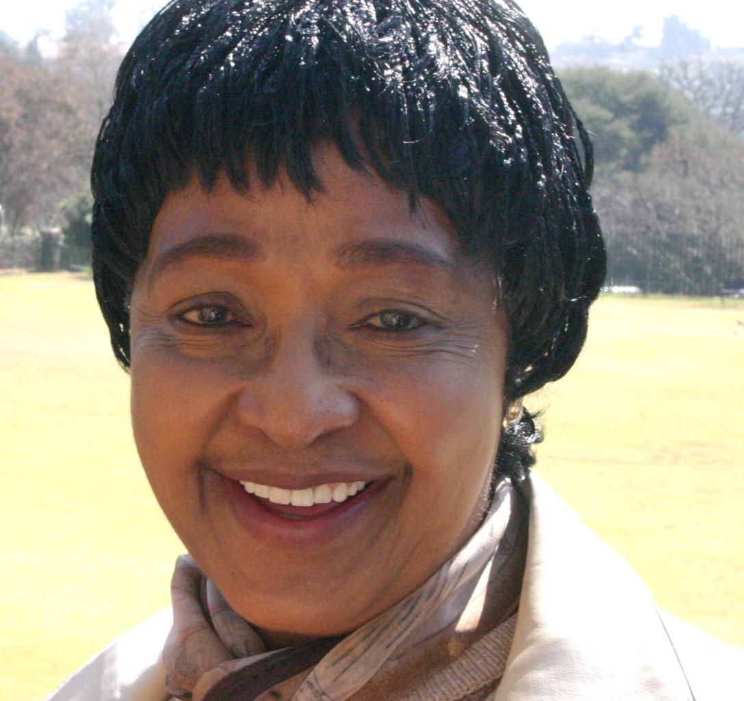 Winnie Madikizela-Mandela, July 2008