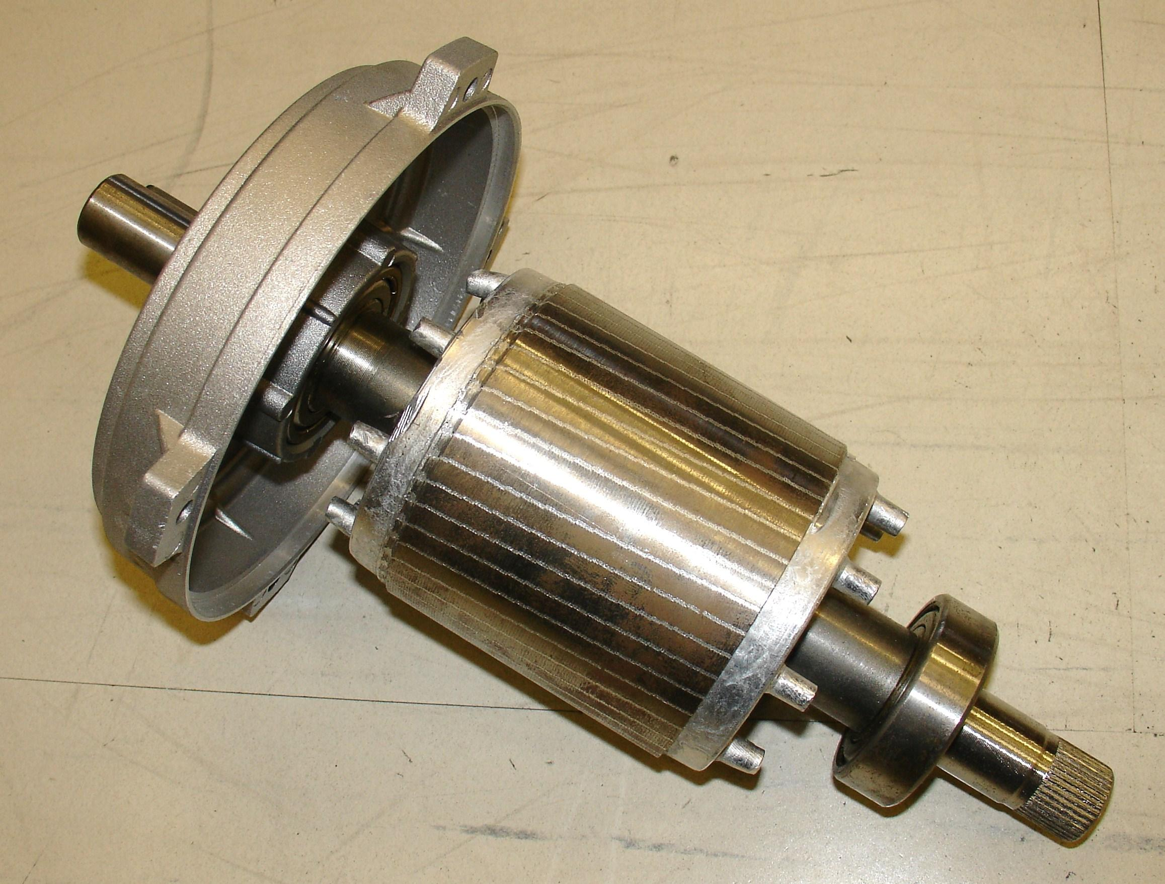 Squirrel-cage rotor - Wikipedia