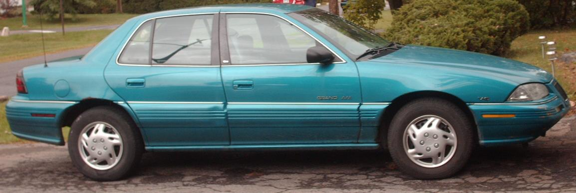 1993 pontiac grand am gt coupe 2 3l manual rh carspecs us 1995 pontiac grand am service manual 1998 Pontiac Grand AM