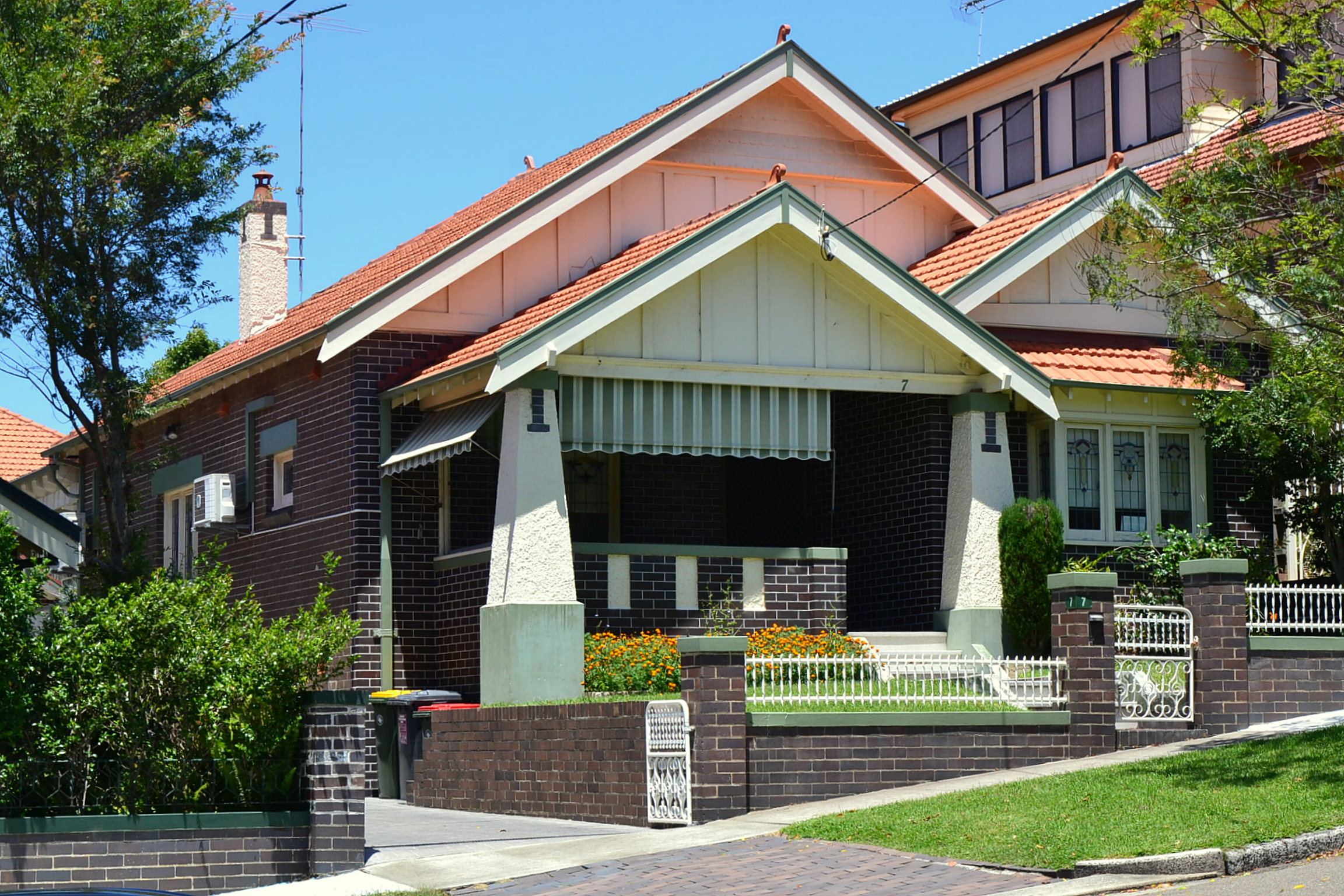 File 1 California Bungalow Sydney 4 Jpg Wikimedia Commons