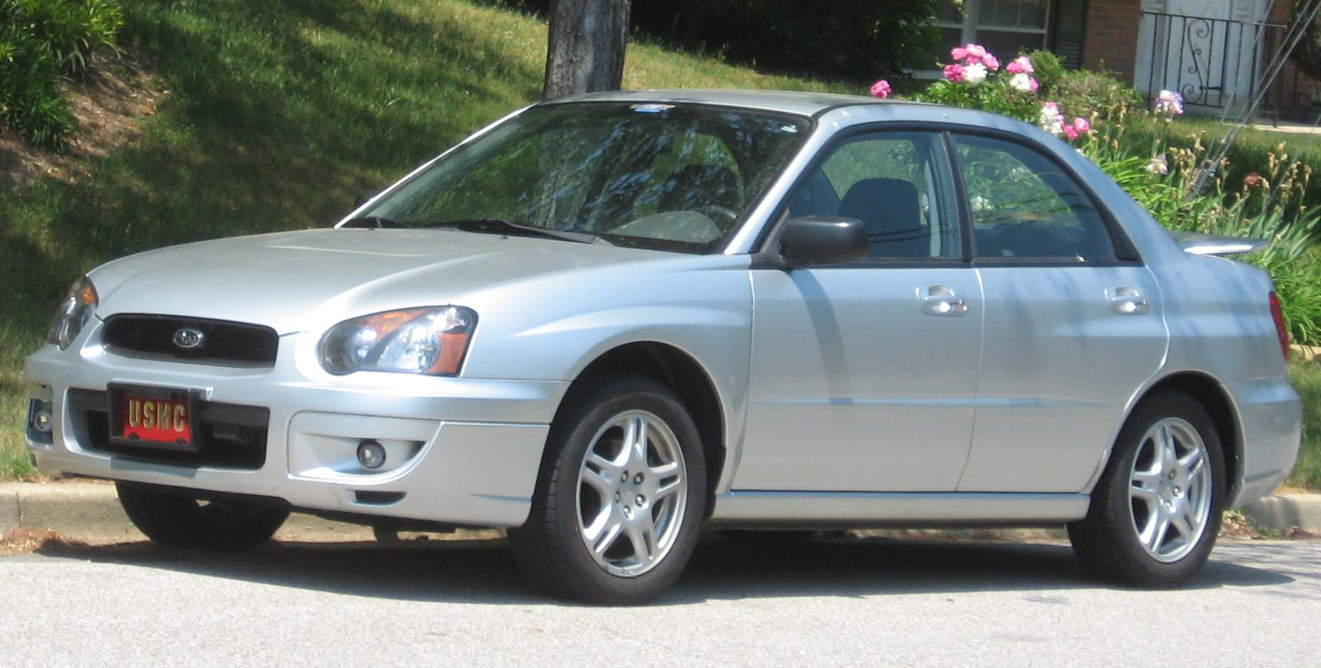 2003 Subaru Impreza 2.5 RS - Sedan AWD Manual