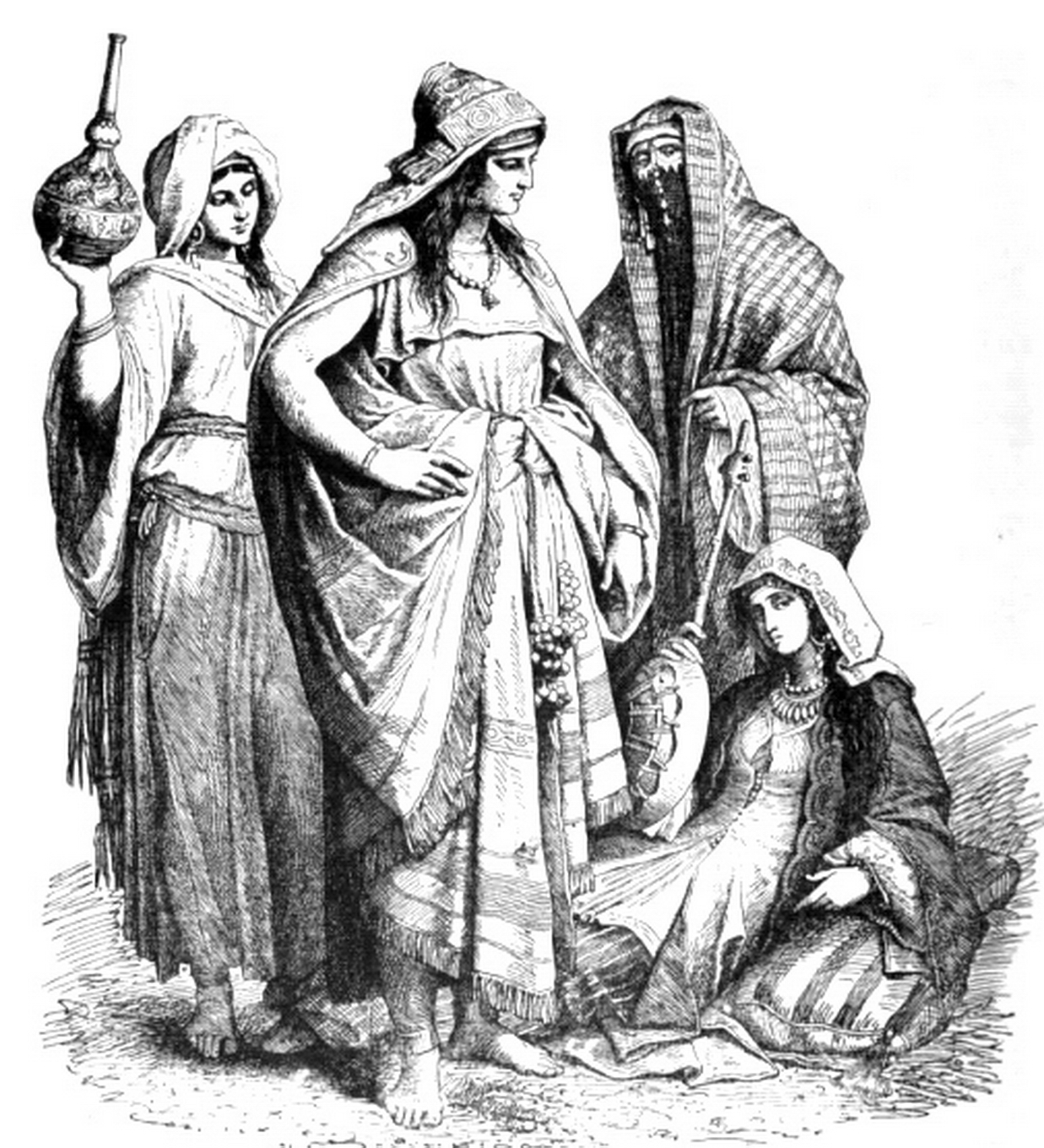 role of women in ancient times