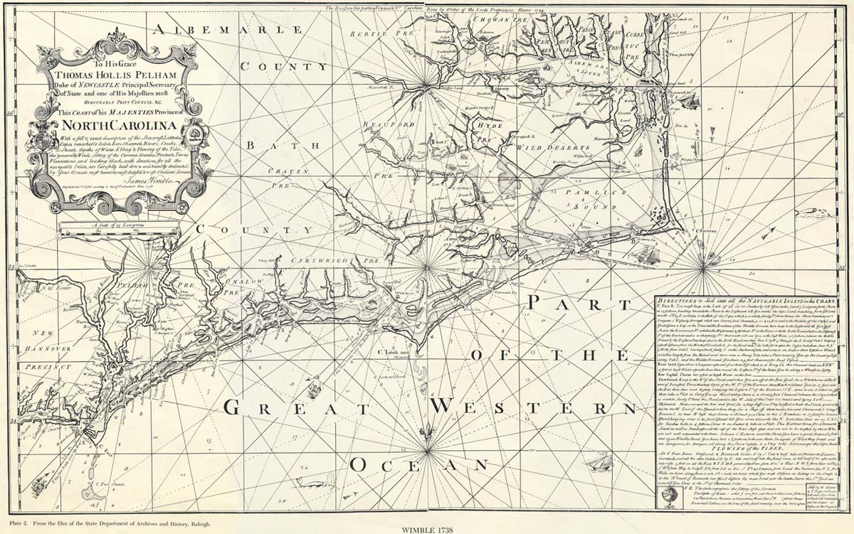A descriptive analysis of the history of colonial north carolina
