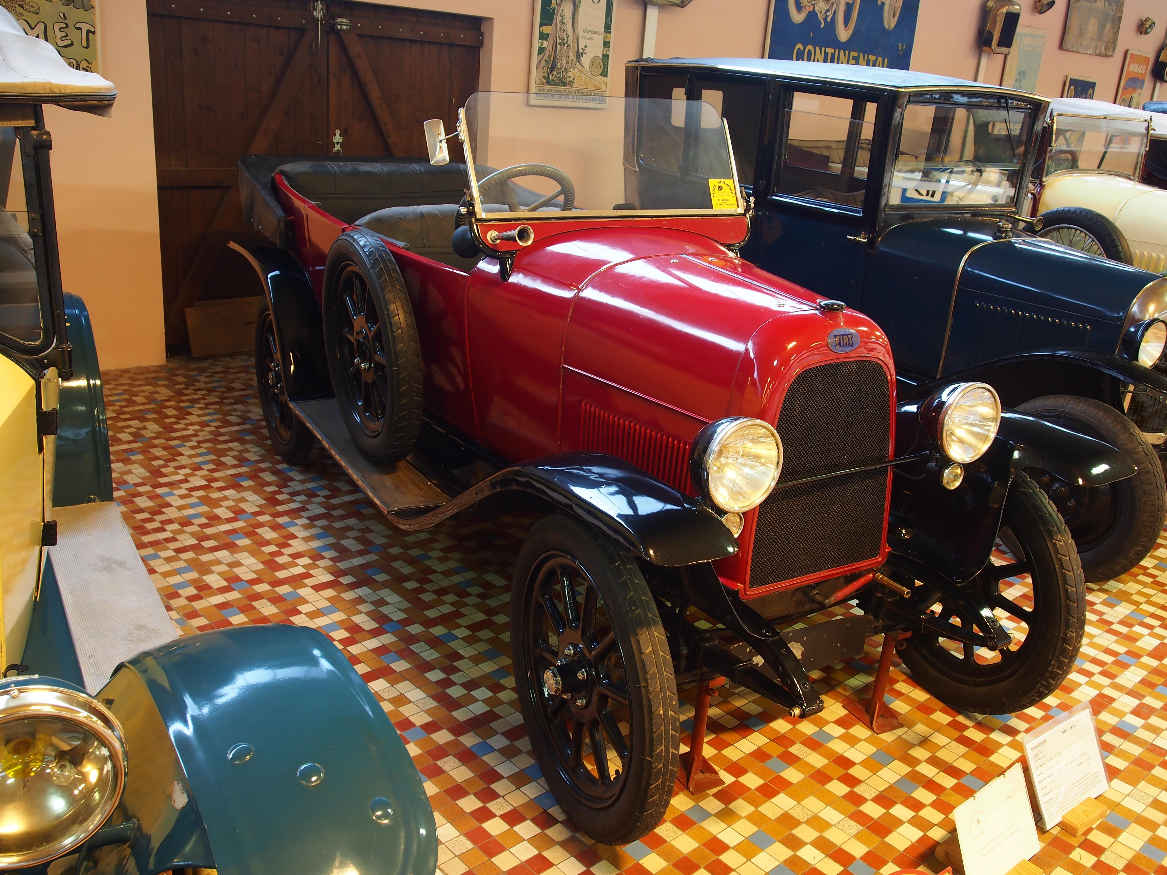 file 1921 fiat 501 torpedo 10cv 1450cc 4cyl at the mus e automobile de vend e pic 5 jpg. Black Bedroom Furniture Sets. Home Design Ideas
