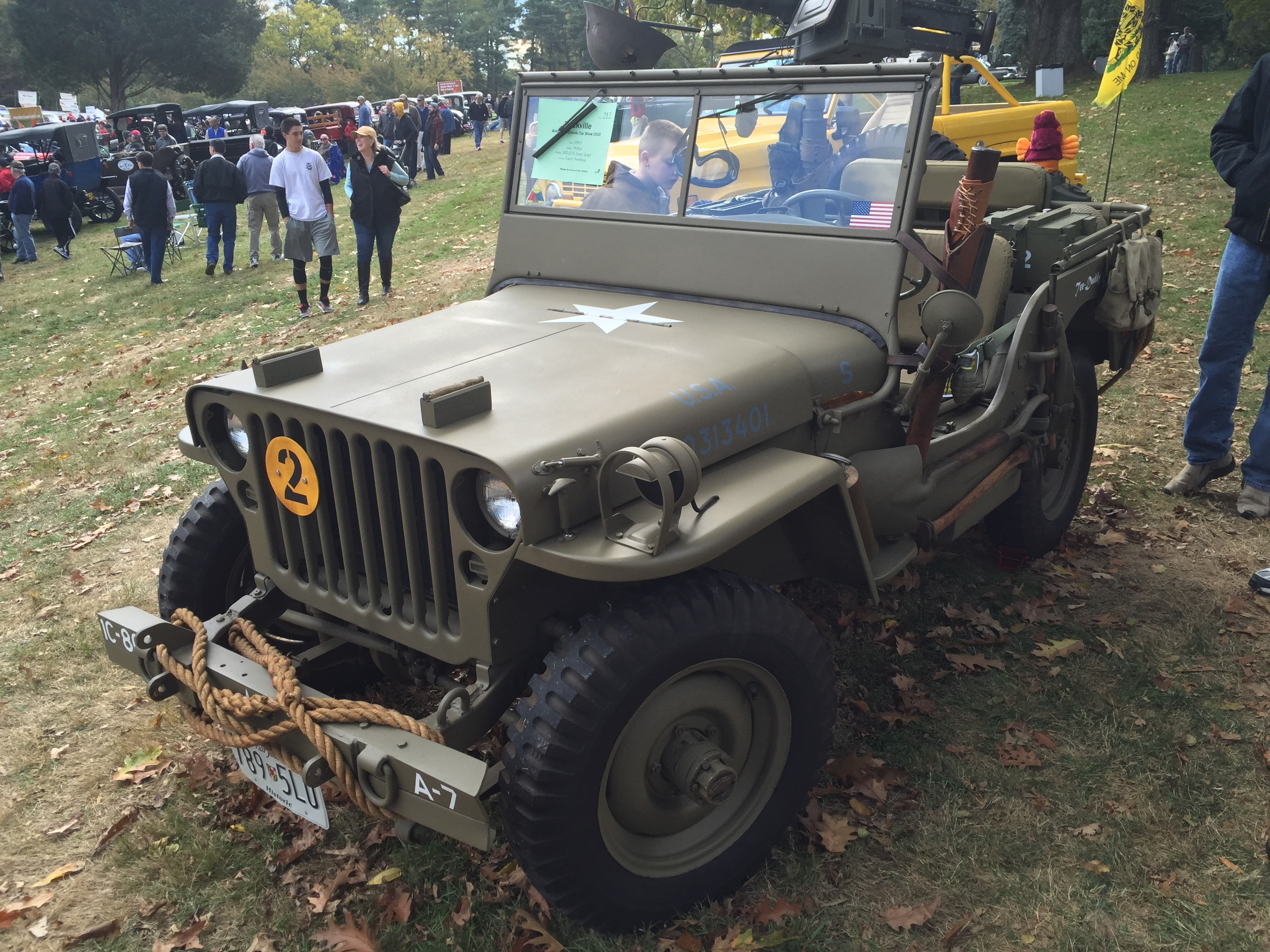 File 1943 Willys MB US Army Jeep at 2015 Rockville Show 2of3