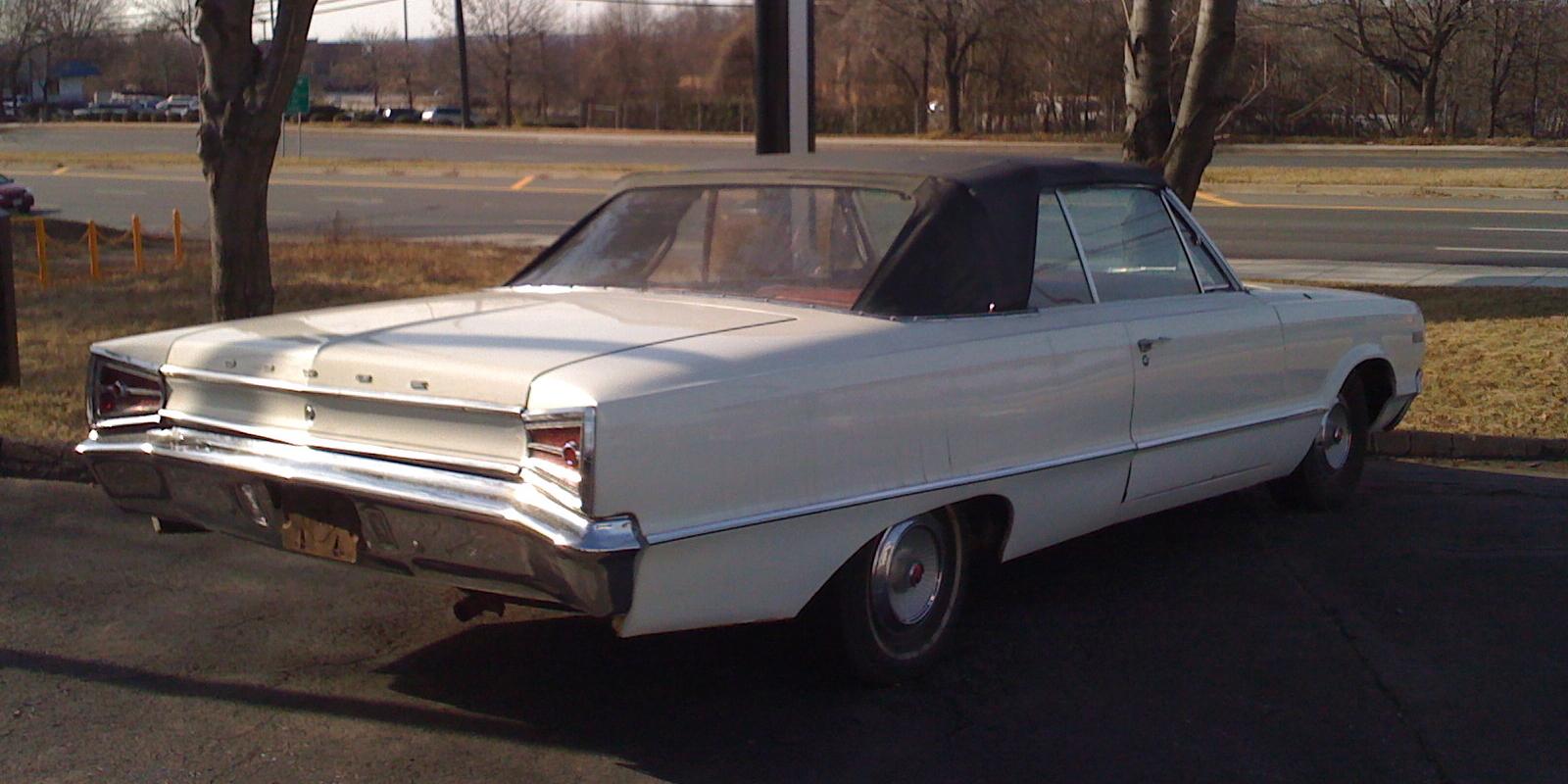 File 1965 Dodge Polara White Convertible Md R Jpg