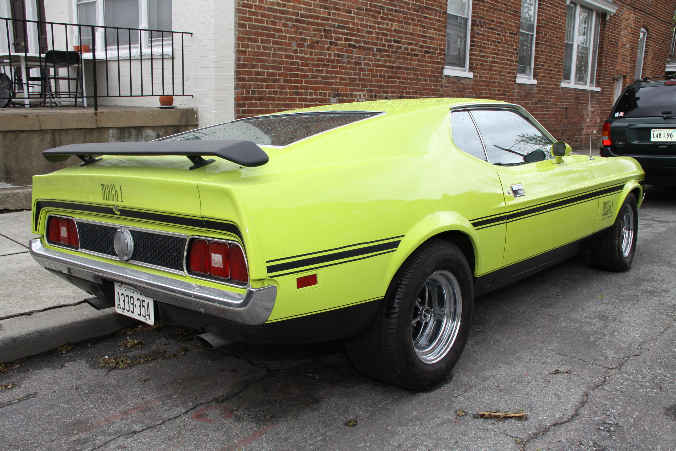 File 1971 Mach 1 Mustang Flickr Gamma Man 4 Jpg