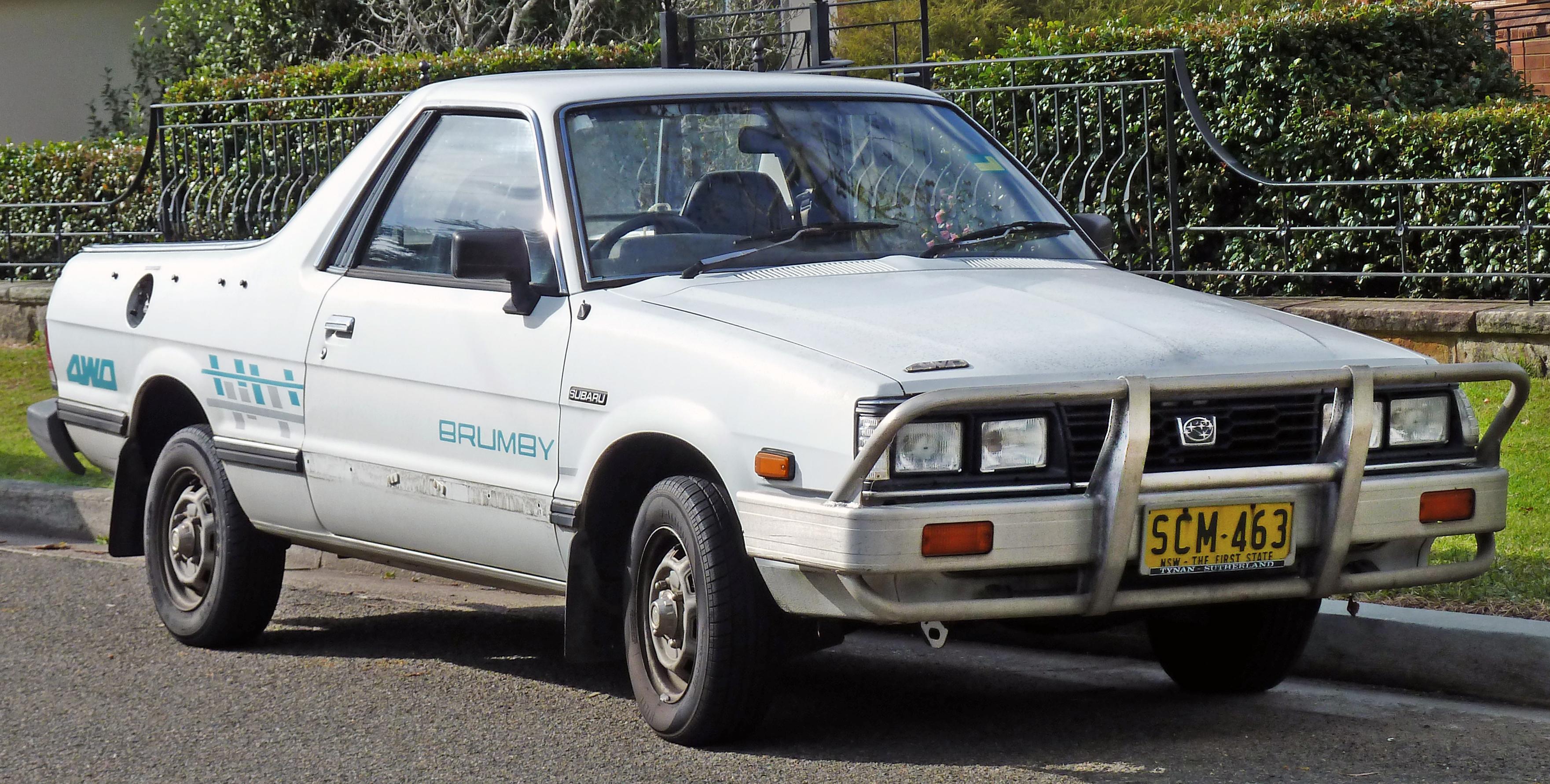 File 1991 Subaru Brumby Utility 2010 07 21 01 Jpg