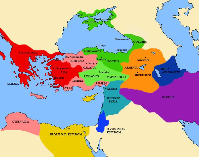 Seleukovská říše v době Mithridatových válek