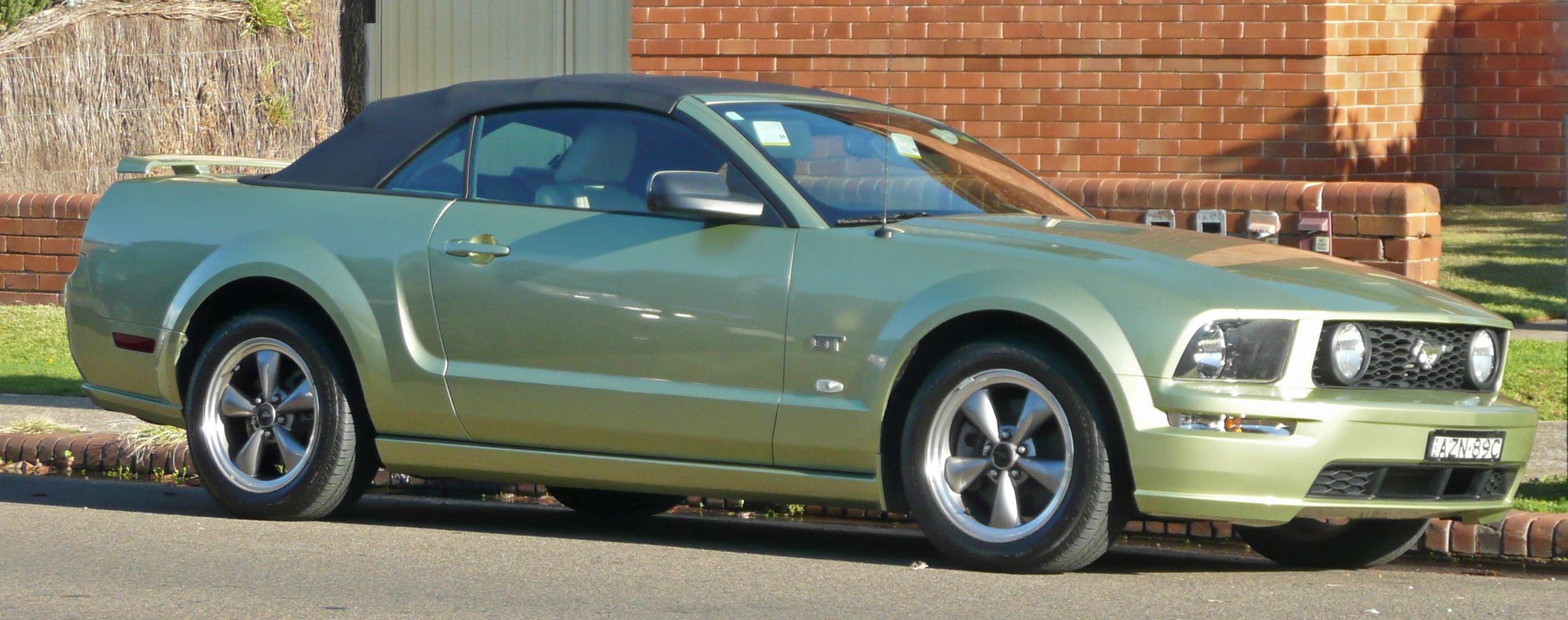 2009 Ford Mustang Blue File:2005-2009 Ford Mustang gt