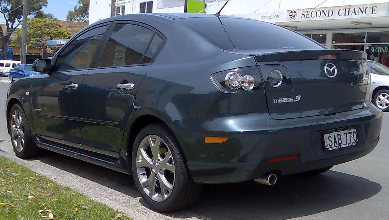 File 2008 Mazda 3 Bk Series 2 Sp23 Sedan 01 Jpg Wikimedia Commons