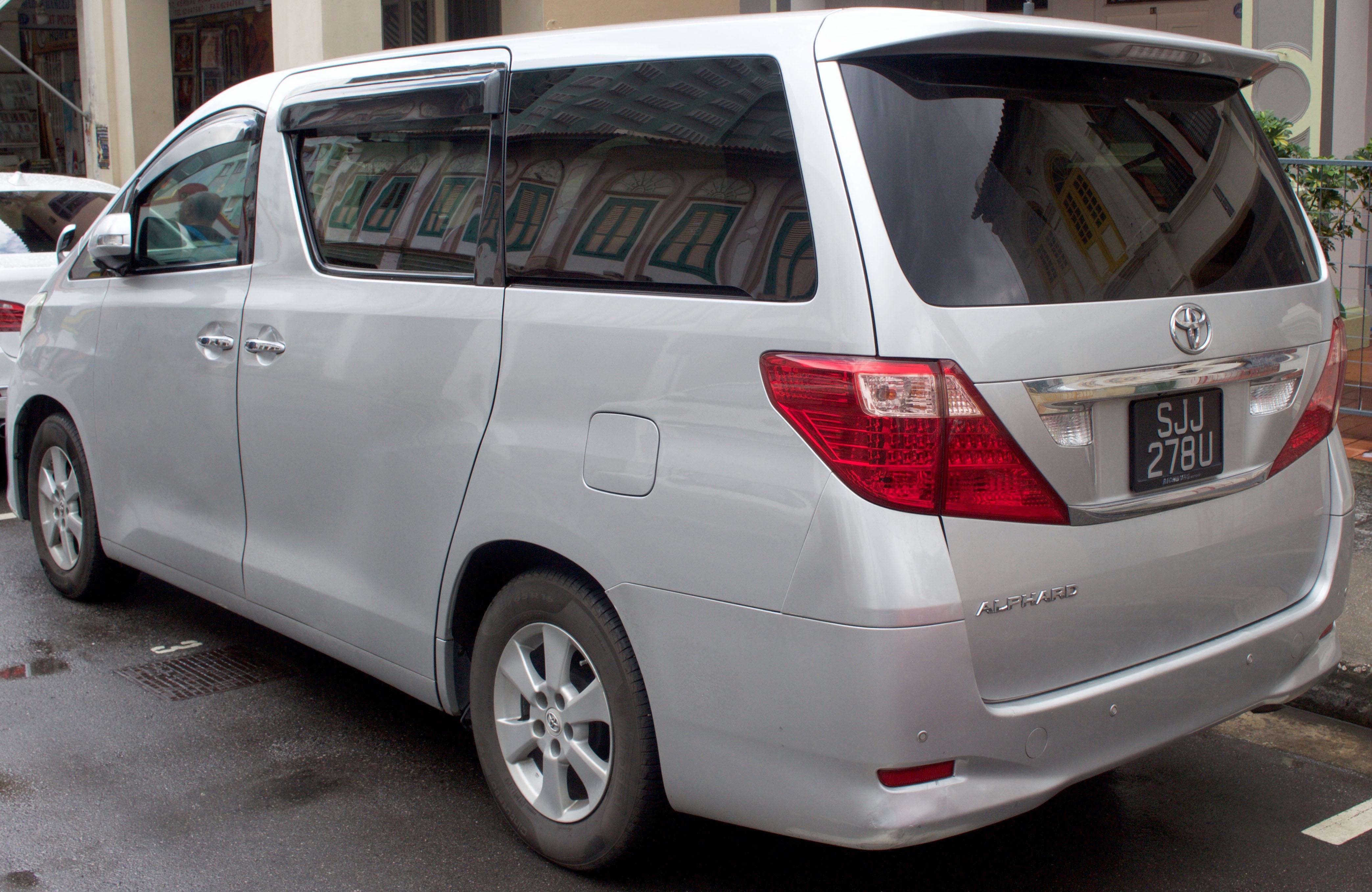 Kelebihan Toyota Alphard 2008 Tangguh