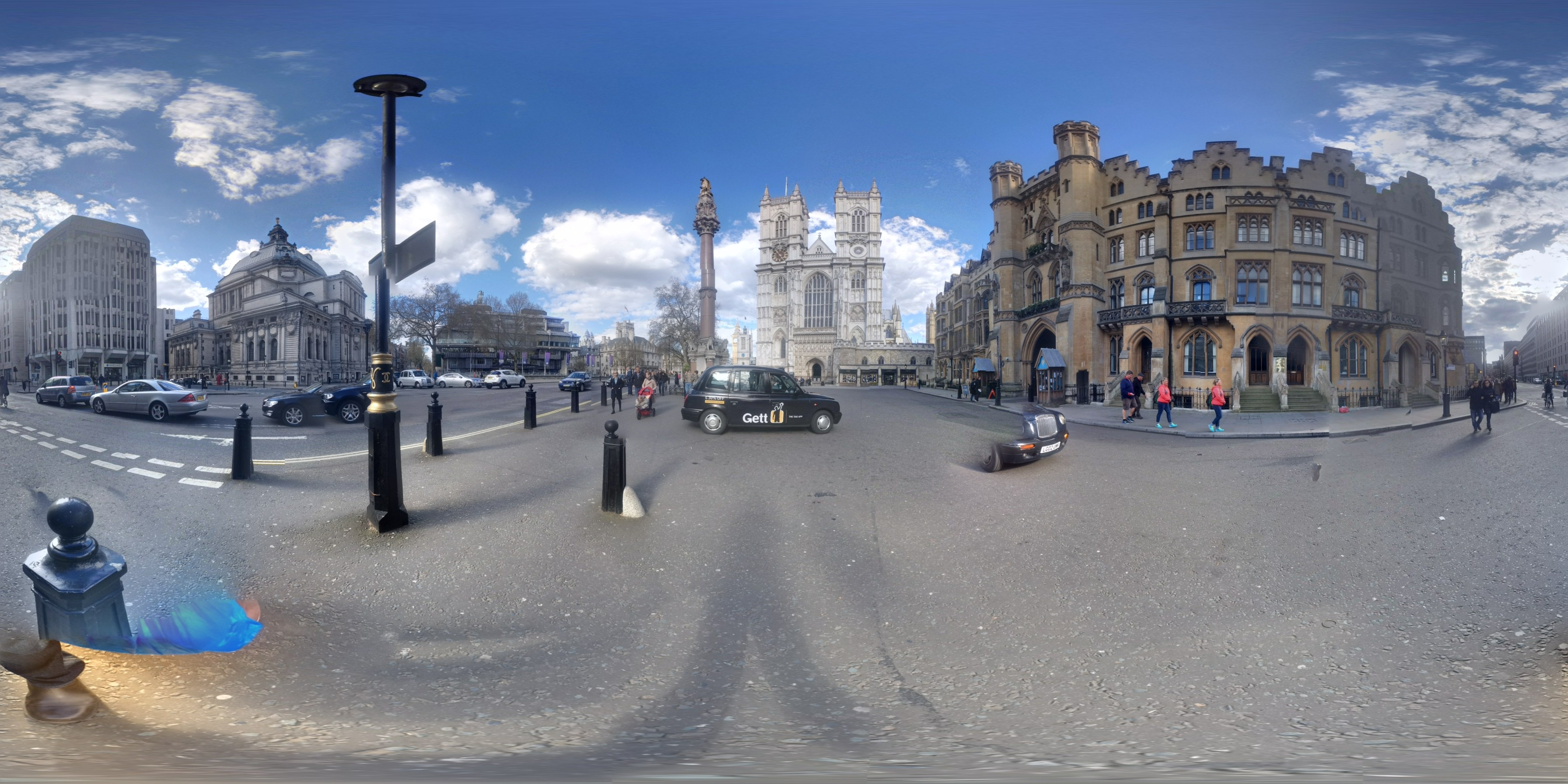 Credit One Contact >> File:360 panoramic view of Westminster Abbey, London, UK.jpg - Wikimedia Commons