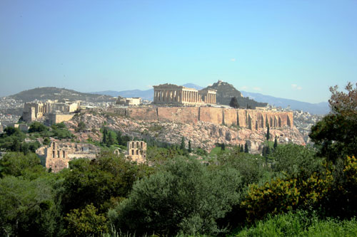 Acropolis from south-west