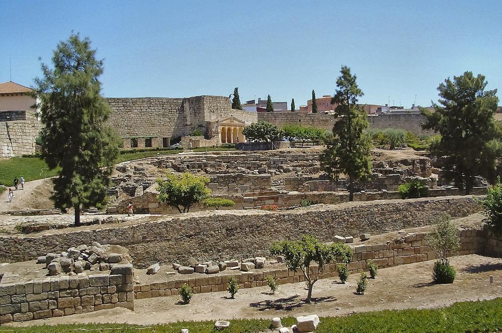 Merida Spain  city photos gallery : Alcazaba de Merida Spain Wikipedia, the free encyclopedia