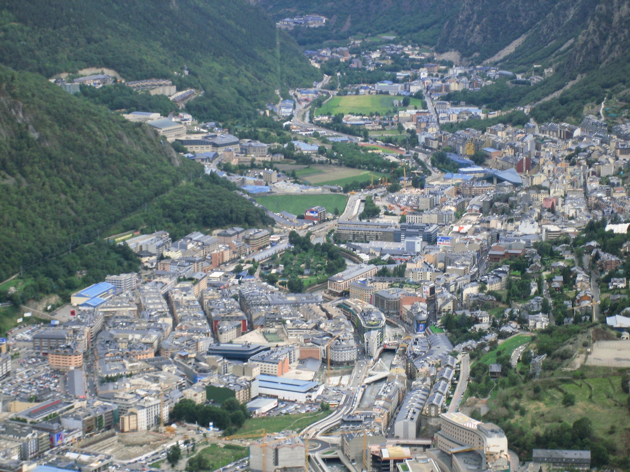 Andorra La Vella Andorra  city pictures gallery : Andorra la Vella 2 Wikimedia Commons