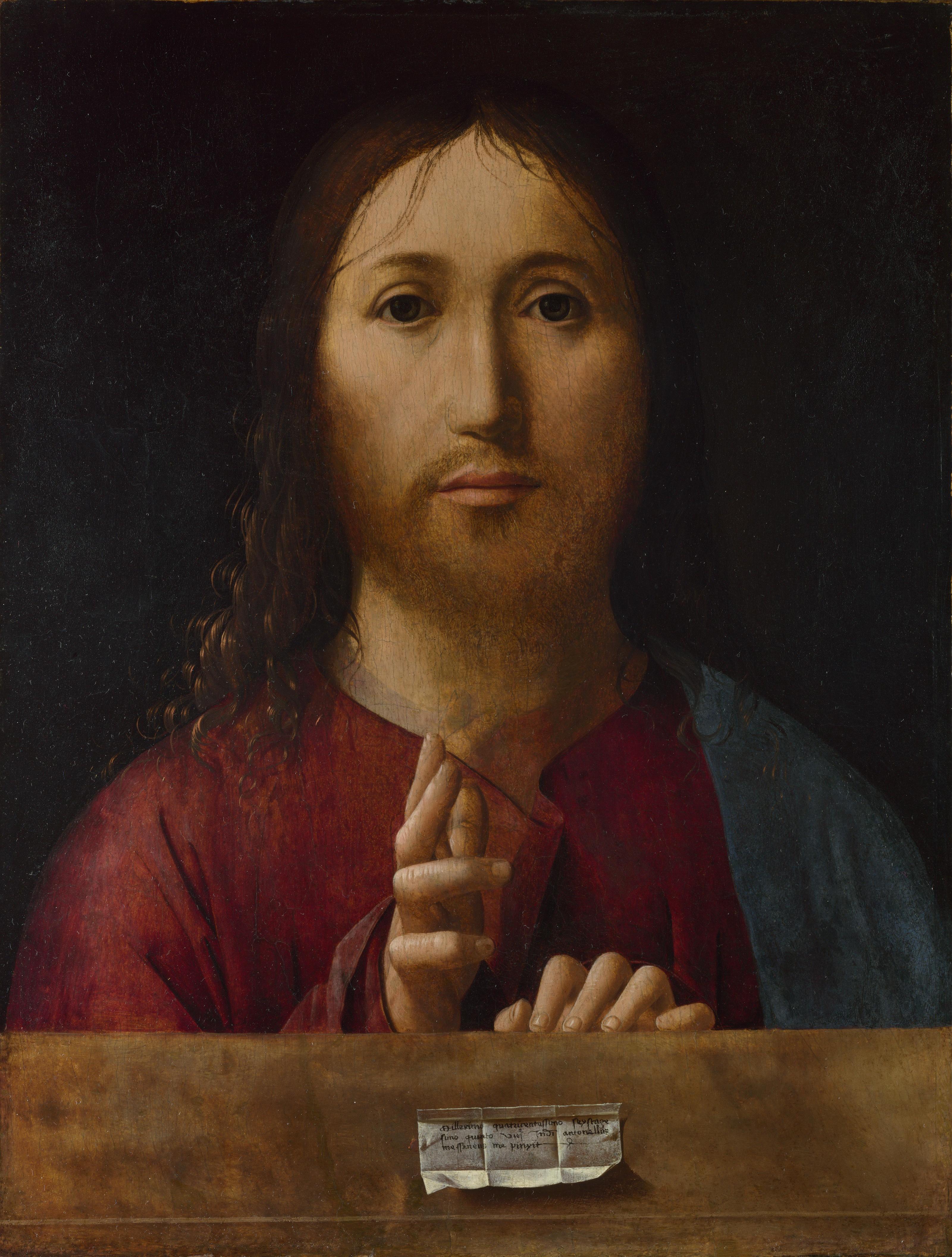 Salvator Mundi Da Messina >> Il Salvator Mundi di Antonello da Messina | Finestre sull'Arte - La nota