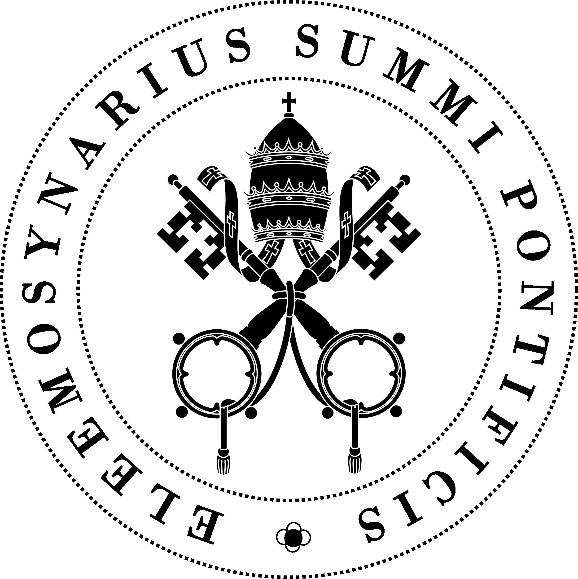 Sceau des aumôniers du Pape