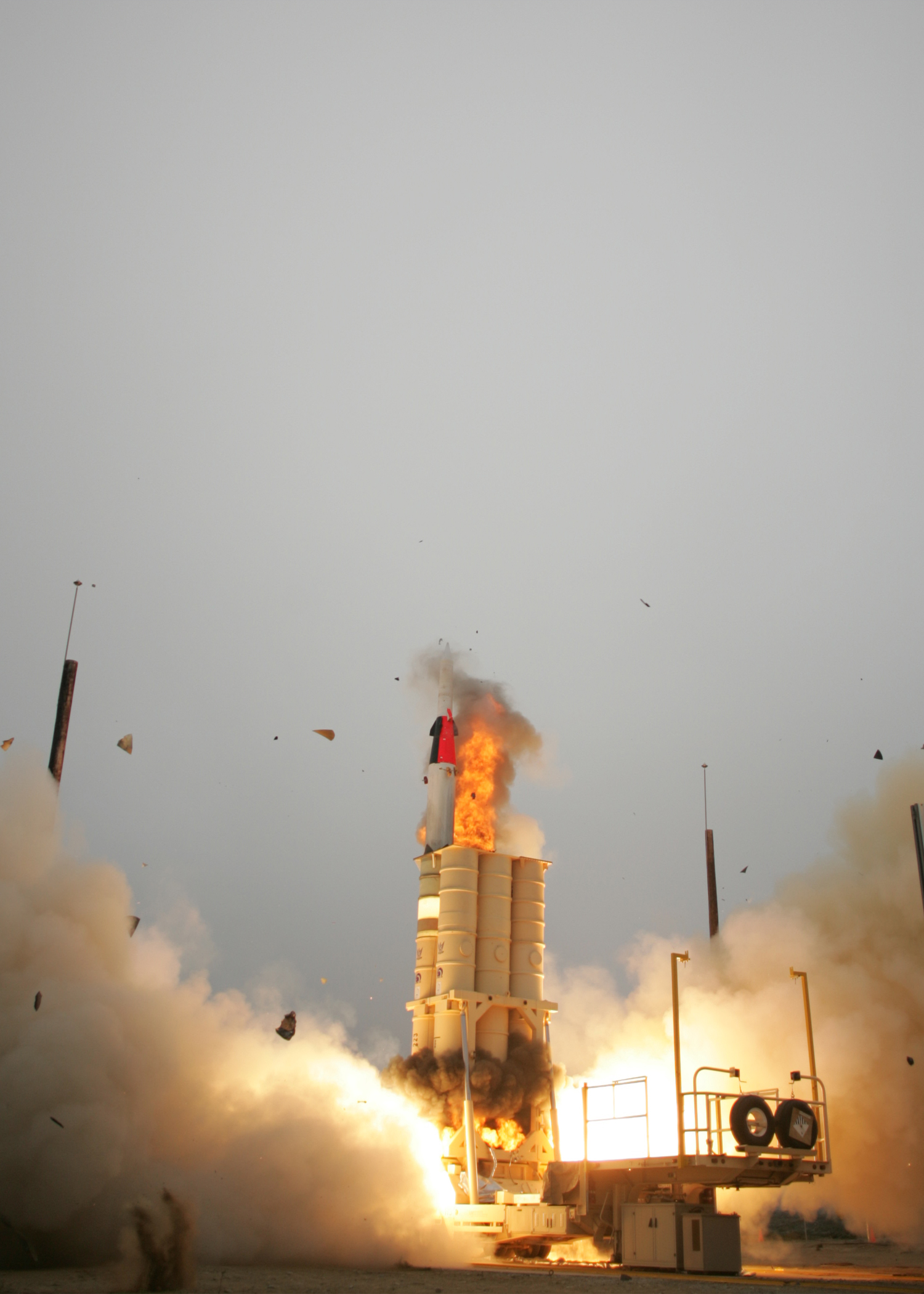 File:Arrow anti-ballistic missile launch4 jpg - Wikimedia