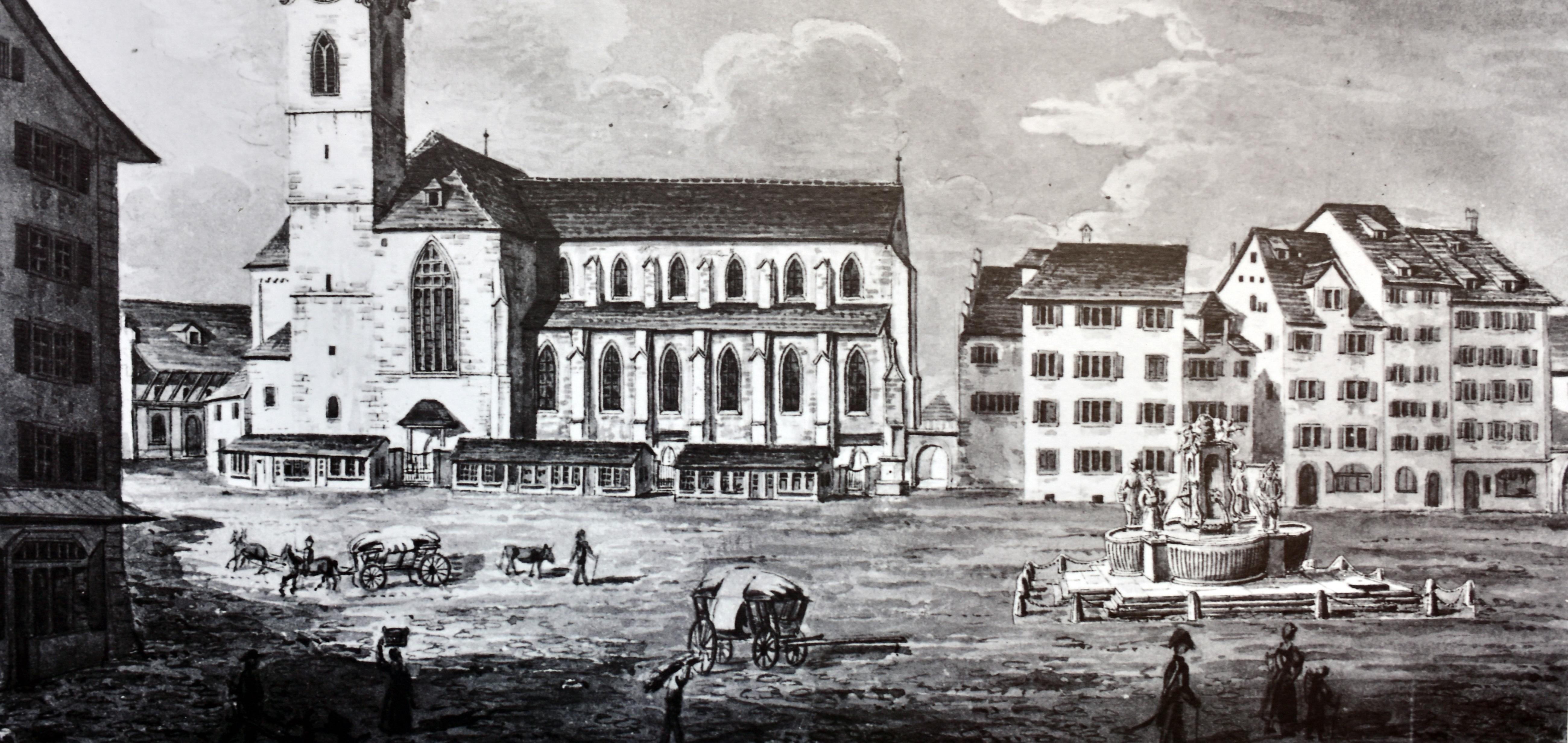 File Ausstellung Münsterhof vom Markplatz zum Parkplatz zum Kulturplatz Der Münsterhof mit dem  ~ 15105120_Sukkulenten Sammlung Zürich Parkplatz