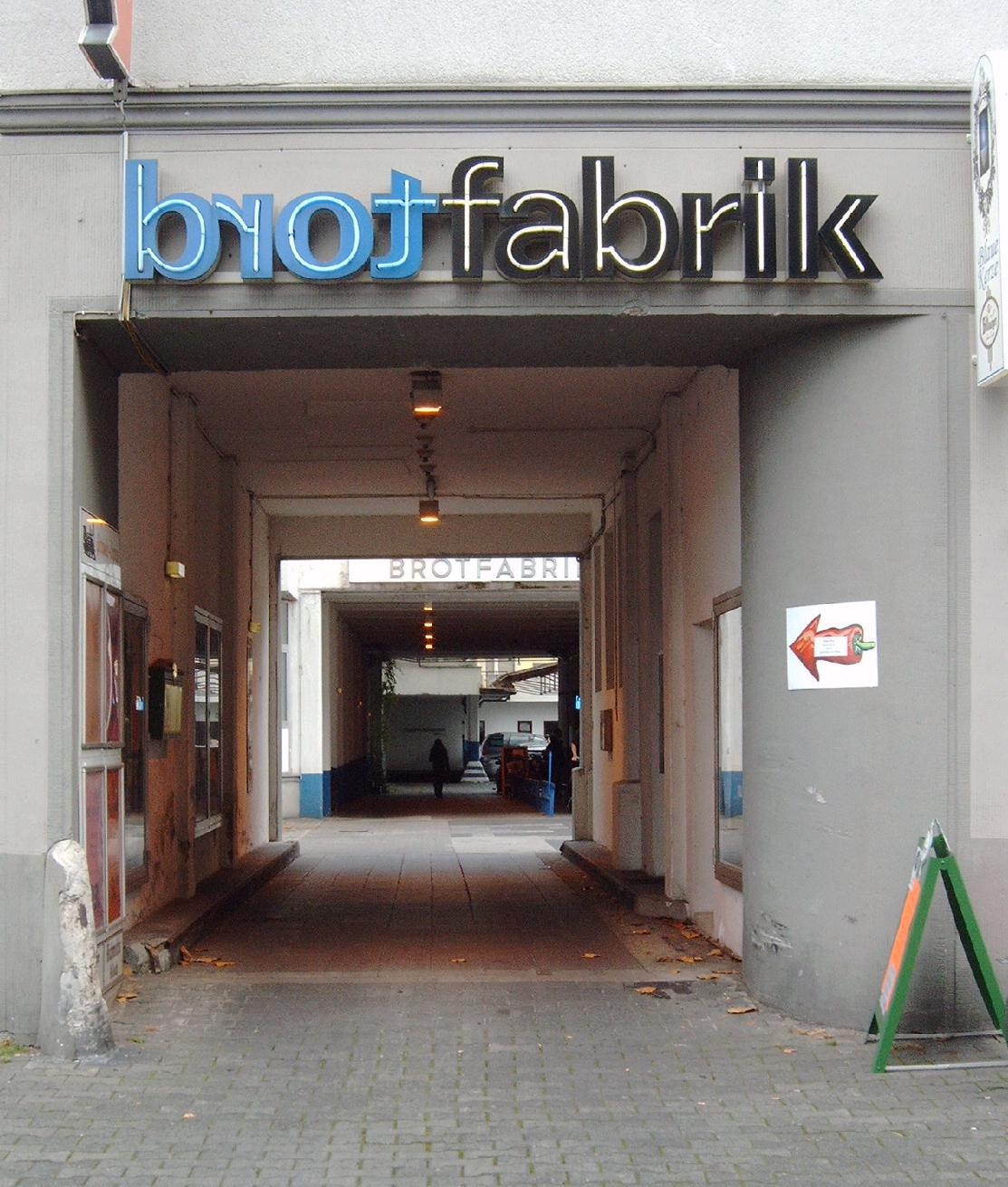Brotfabrik Bonn