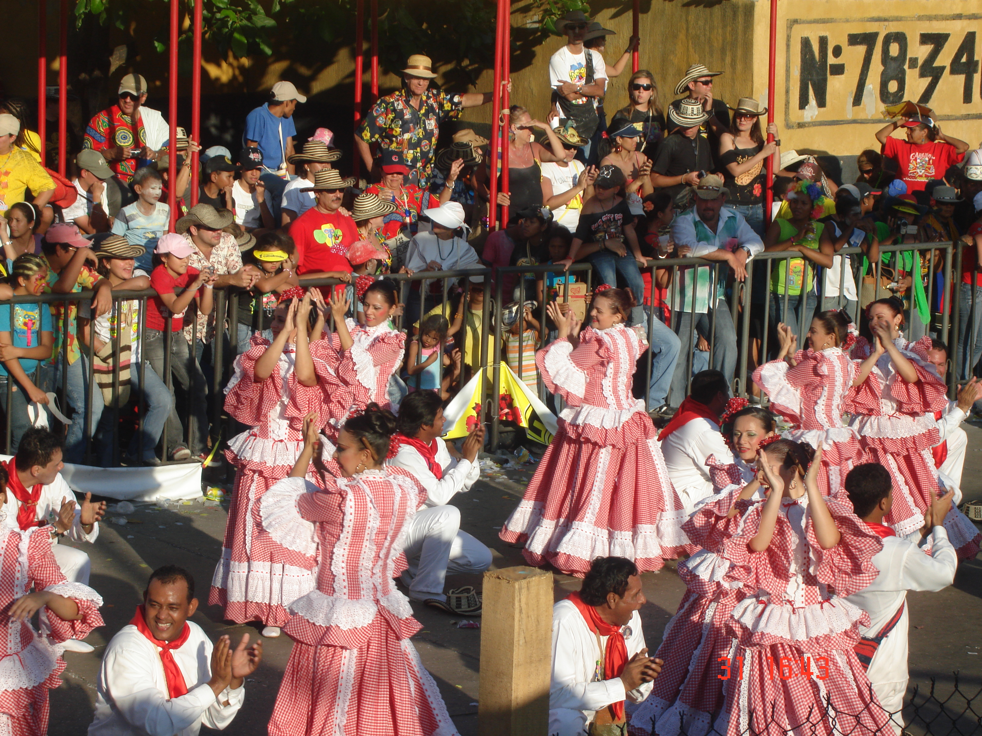 Description Baile de la Cumbia - Barranquilla.jpg