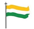 Bandera del Municipo de el torno.jpg