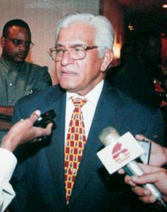 Trinidadian and Tobagonian politician, lawyer, trade unionist, actor, economist, and the 5th Prime Minister of Trinidad and Tobago