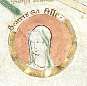 Beatrice of England 12th-century English princess and duchess of Brittany