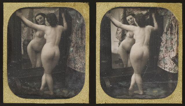 Stereoscopic erotika