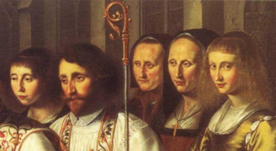 Filebernardus Van Clairvaux Bekeert Willem Van Aquitanië